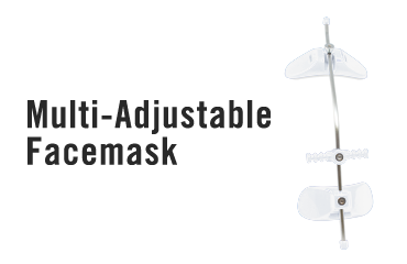 Multi-Adjustable Facemask