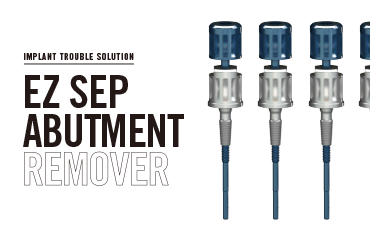EZ SEP ABUTMENT REMOVER